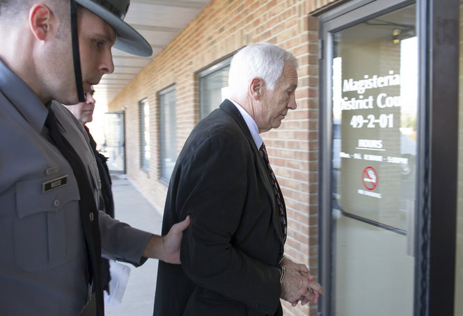 Sandusky Hesitates Before Saying He's Not Sexually Attracted To Young Boys