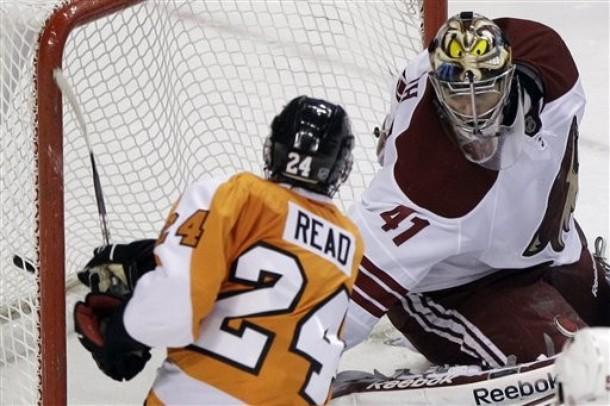 Matt Read Is Making A Good Case For Calder Trophy