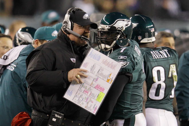 Andy Reid's Trust In Vick Was Never More Evident Than In This Jets Game