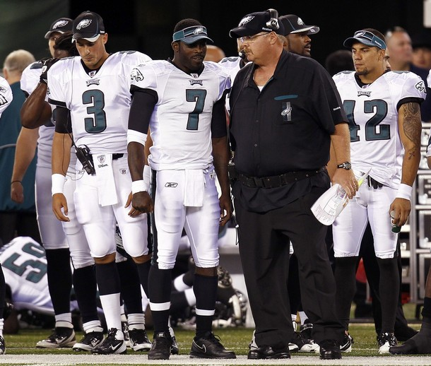 Will Michael Vick Be Able To Save Andy Reid's Job?