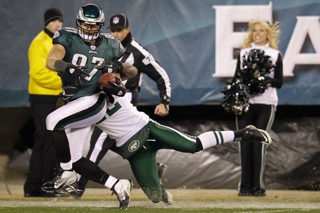 Brent Celek Has A Career Day As Eagles Passing Game Explodes