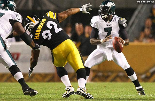Mornhinweg Wants Vick To Show Him He Can Play Safely