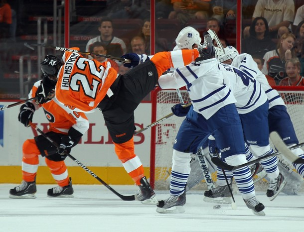 Holmstrom Recalled as Flyers Once Again Shuffle the Deck