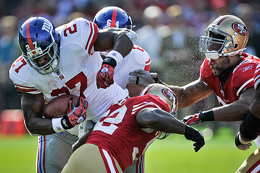 Which Running Game Gets Going, The Niners Or The Giants?