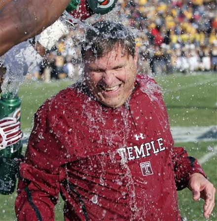 "Temple ""D"" Coordinator Chuck Heater A Candidate For Clemson Job"
