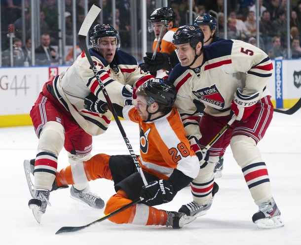 Rangers Roll Over Flyers 5-2