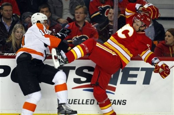 Gutsy Shootout Win Keeps Flyers Alive in 5-4 win against Flames