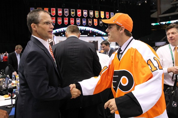 Flyers Rumored to Be Eyeing a Move Up the Draft Board