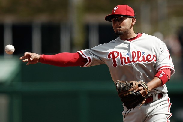 Freddy Galvis Looking Out Of Place On Opening Day