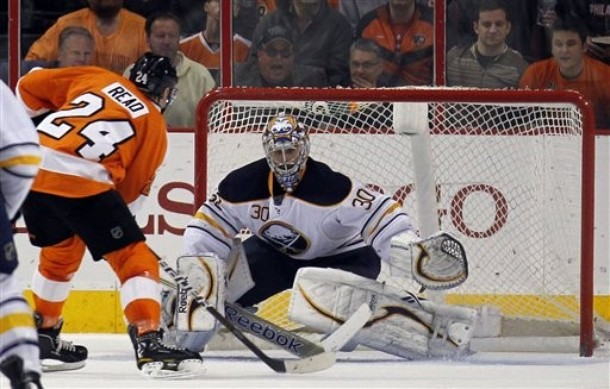 Sabres Season Cut Short By Read, Bourdon