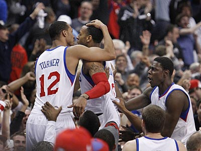 Iguodala Nails The Free Throws As Sixers Eliminate The Bulls