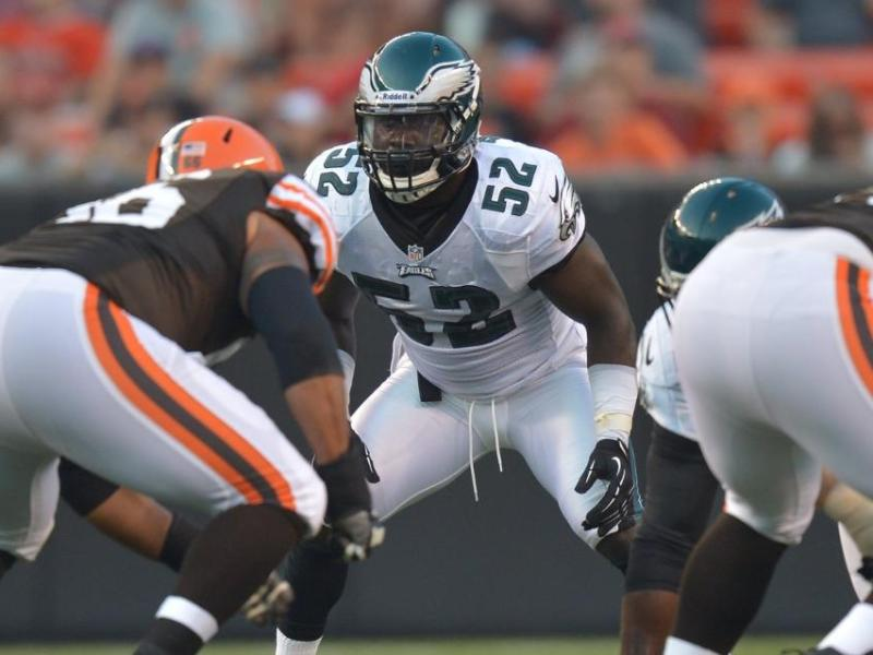 Eagles Bench Brian Rolle And Promote Akeem Jordan