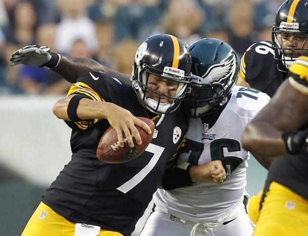 """Eagles Defensive Line Dominates, But First Team """"D"""" Struggles"""