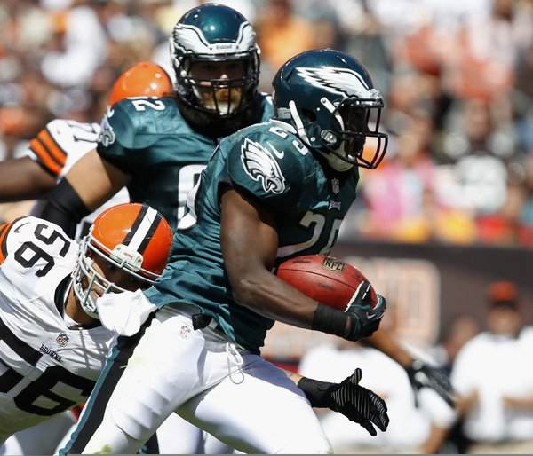 Eagles Should Feature McCoy And Rookie Backs Against The Ravens