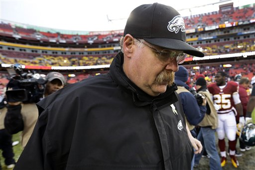 Andy Reid Is Hanging Tough With No Plans Of Stepping Down