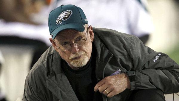 Eagles Fire Defensive Line Coach Jim Washburn