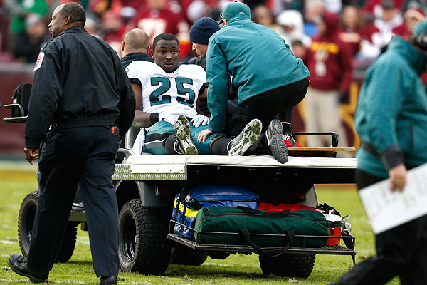 Five Eagles Likely To Miss Battle With Bengals