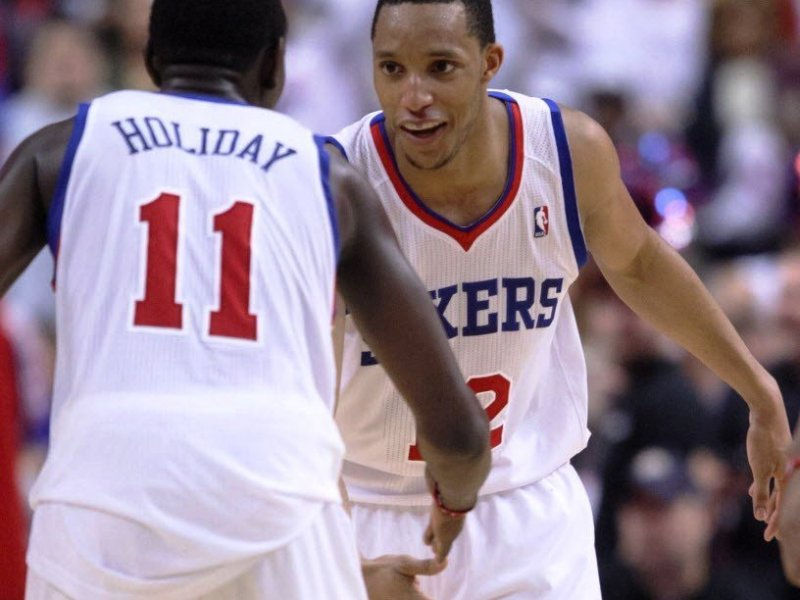 The Sixers Now Belong To Jrue Holiday And Evan Turner