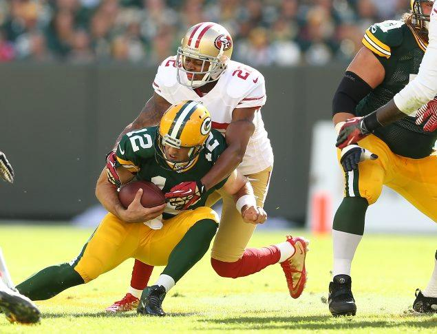 Will Niners Be Able to Get To Rodgers And Protect Kaepernick?