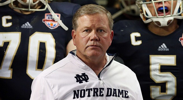 Reports:  Eagles Interview Notre Dame Head Coach Brian Kelly