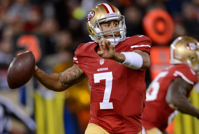Colin Kaepernick Will Have To Beat The Ravens With His Arm