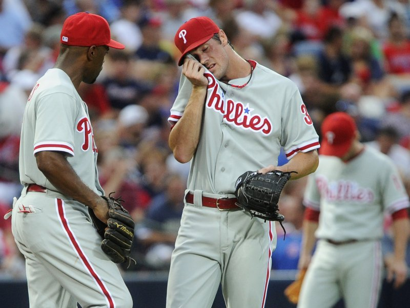 Hamels Disappoints; Phillies Fall To Braves On Opening Day