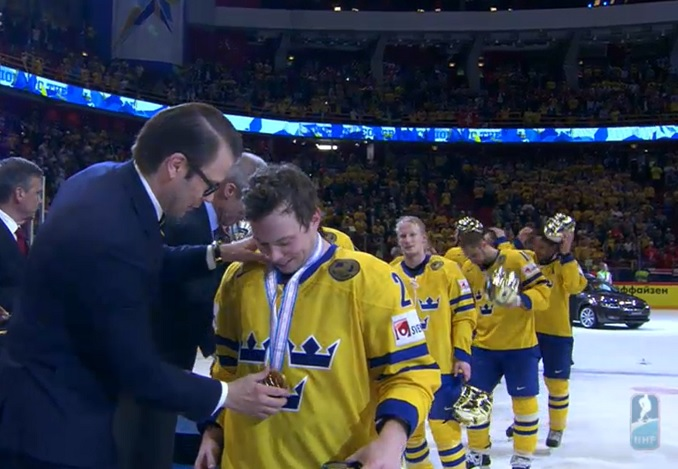 Gustafsson, Sweden Take Gold at World Championships