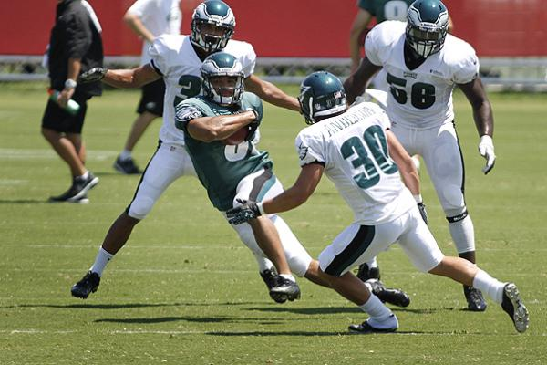 In A Good Move, Eagles Use Clay Harbor At Wide Receiver