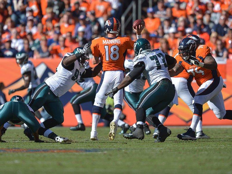 Eagles Defense Made It Easy For Peyton Manning And Denver Attack