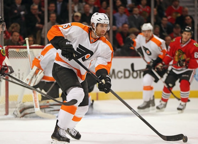 Coburn's Value Returning as one of Few Reliable Flyers Defensemen