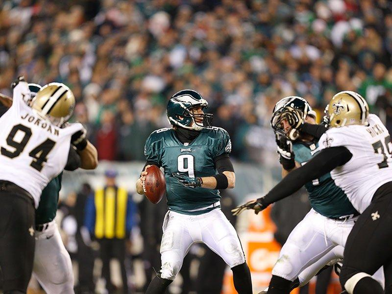 Nick Foles Struggled Early But Came On Late