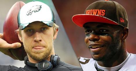 Eagles Turned Down Nick Foles for Josh Gordon Trade Proposal