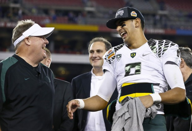 Reports: Chip Kelly Is Hot On Trail Of Marcus Mariota