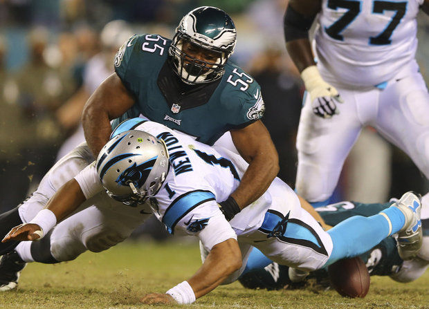 Eagles Lack Depth At OLB, Need Big Year Out Of Graham
