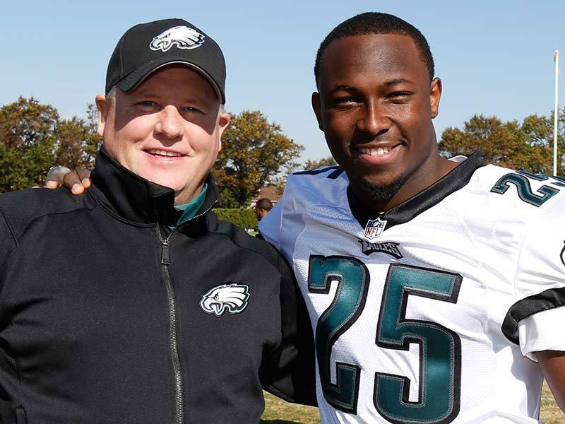 "LeSean McCoy:  Eagles Chip Kelly got rid of ""all the good black players"""