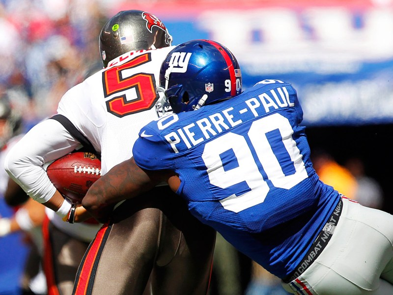NFC East:  Jason Pierre-Paul Injures Hand In Fireworks Accident