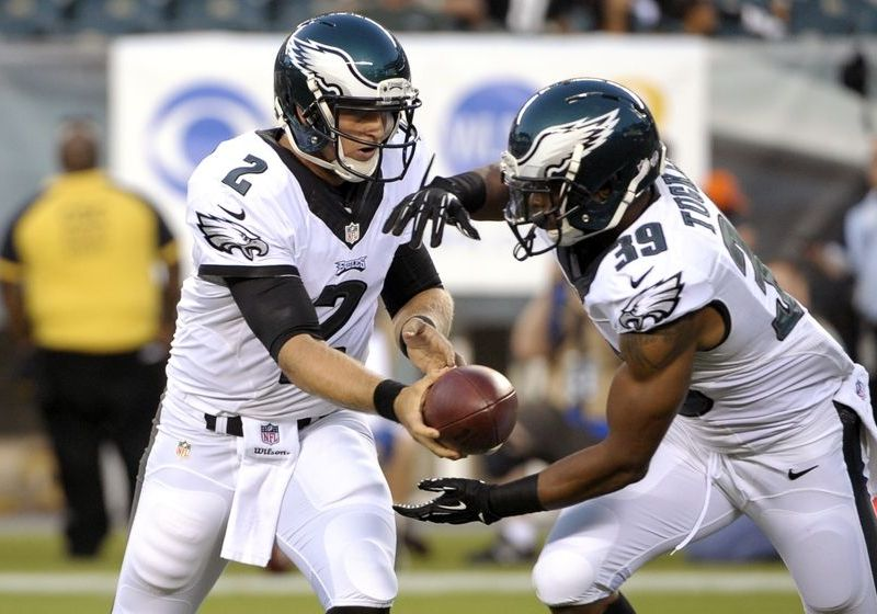 Eagles Waive Back Up Running Back Matthew Tucker
