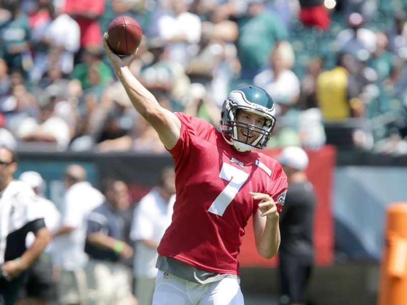 Bradford Is Anxious, Smith is Out & Wolff Is Gone, As Eagles Prepare For Ravens