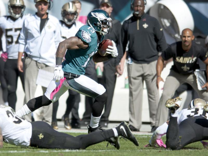 Eagles Offense Dominates Poor Saints Defense