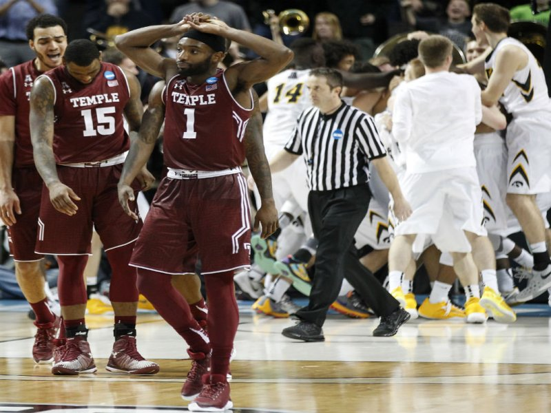 Temple Gets Pushed Out Of The Tournament