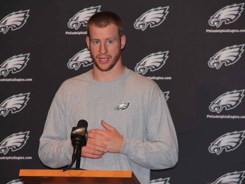 Carson Wentz Expects To Have A Good Relationship With Sam Bradford