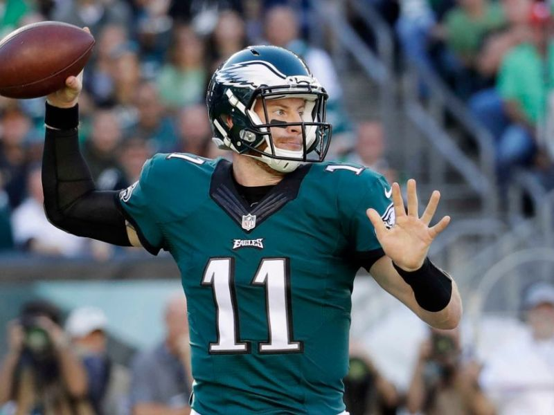 Carson Wentz Named NFC Offensive Player Of The Week
