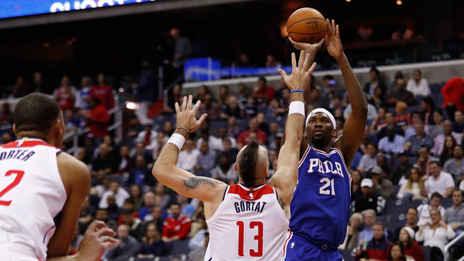 Video:  Joel Embiid Has Good Start In Loss To The Wizards: 120-115