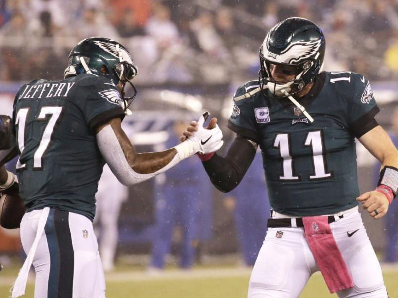 The Eagles Started Fast Led By Their Franchise Quarterback