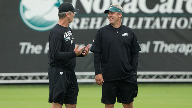 Eagles fire Doug Pederson; Begin search for replacement.