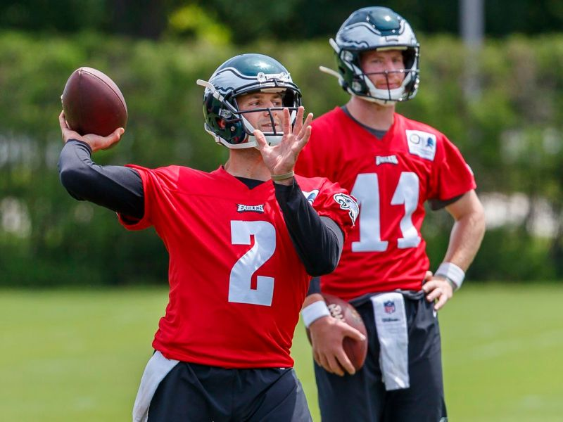 Eagles Have Reason To Be Concerned About QB Situation