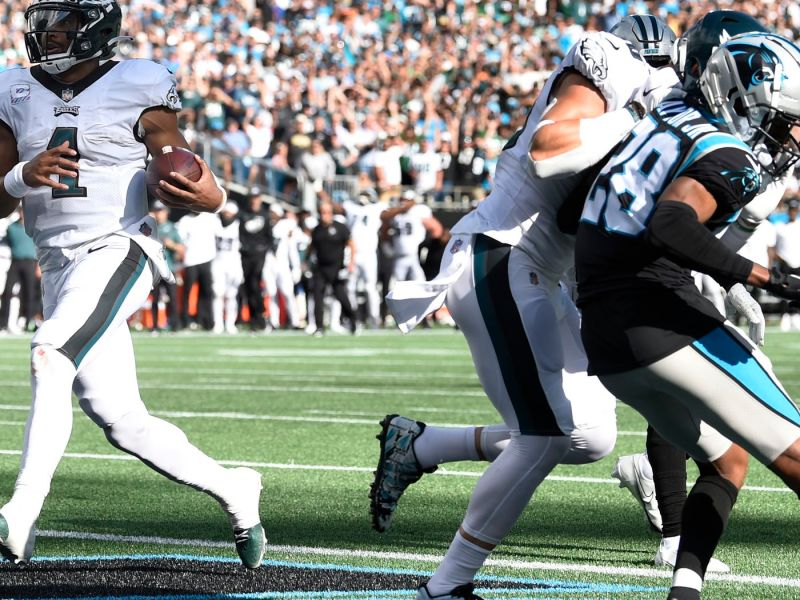 The Eagles Offense Did Just Enough Vs. The Panthers