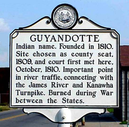 guyandotte history sign3