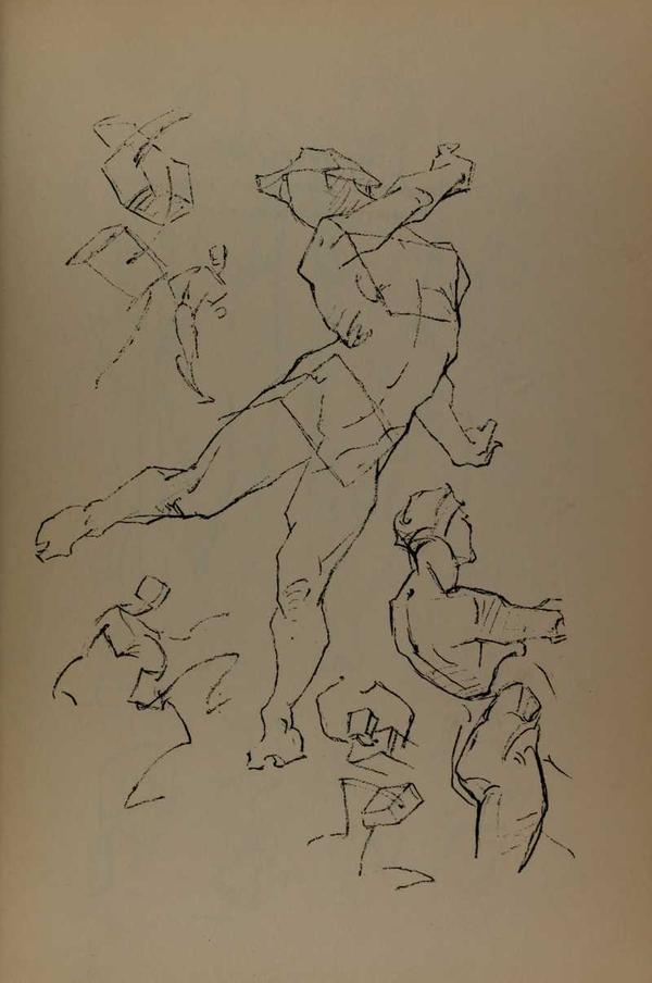 anatomia-constructiva-george-bridgman-cuerpo-torzado