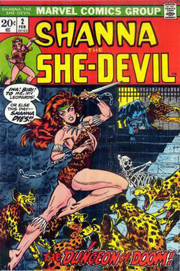 Cover, Shanna the She-Devil #2